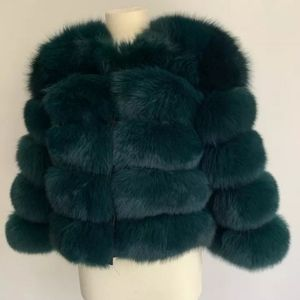 Premium Fox Fur Coat